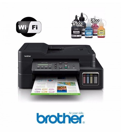 Printer Brother T710W  -  Print | scan |  copy |  F4 | ADF | wireless