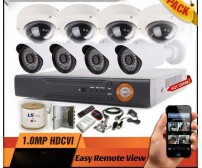 Paket  MURAH/ HEMAT  -  4 camera Dome/Outdoor AHD 1MP + Pasang