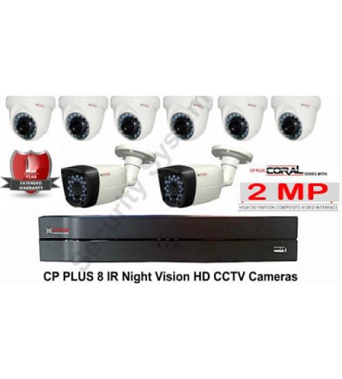 Paket  CCTV  4 camera  AHD 2MP  SPC / Anyvision  +  Pasang