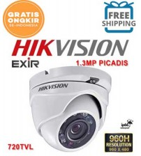 Kamera HIKVISION AHD  720P (1MP) Indoor  (Original)
