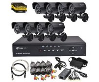 Paket  4 camera AHD Dome/Outdoor AHD 1,3MP + Pasang