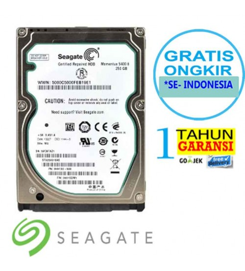 HDD Laptop 250 Gb Seagate sata 3.5""