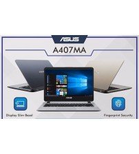 Asus  A407MA Intel Cel. Dualcore N4000 | 4GB | Hdd. 1TB | 14"