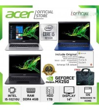 "Acer A514 - core i3 -1005G    | Vga 2gb : Mx350 geforce  | 14"""