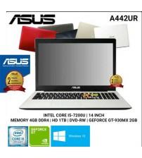 "Asus  A442UR  Intel Core i5-8250U | Ram 4gb | HD 1 Tb | Vga 2gb GT 930MX | 14"" | Windows 10 Original"
