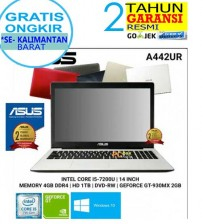 "Asus A442UR- Intel Core i5-8250U - NVIDIA GeForce GT930MX - 14"" - 4GB DDR4 
