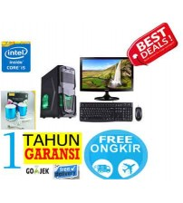 "Paket  PC Kantor 5 - Intel Core i5 2400 (sandy bridge)  |  LCD  Led 19"" Acer"