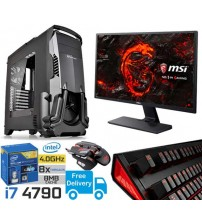 Paket  PC Kantor  7 - Intel Core i7 4770   - 3,4ghz (Haswell   LGA 1150)   | SSD 120GB |  LCD LED LG 20""