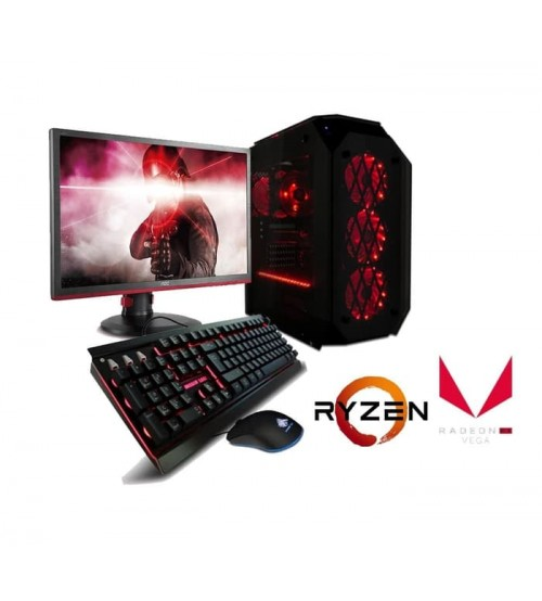 "Paket AMD Gaming  -  Ryzen 5 - 1600  (AM4) | LED 19 "" Acer"