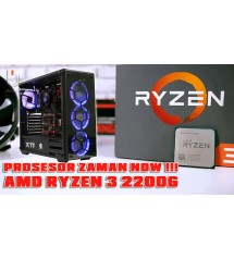"Paket PC Amd  Gaming - Ryzen 3 -  2200G (AM4) | SSD 120 Gb | LCD 19"" LG/ Acer"