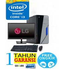"Paket  PC Kantor 6 - Intel Core i3 2120  - (Sandy bridge)  |  LCD  Led 19"" Acer"
