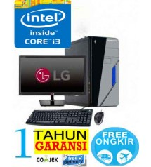 "Paket  PC Kantor 6 - Intel Core i3 2120/ 2100  - (Sandy bridge)  |  LCD  Led 19"" Acer"