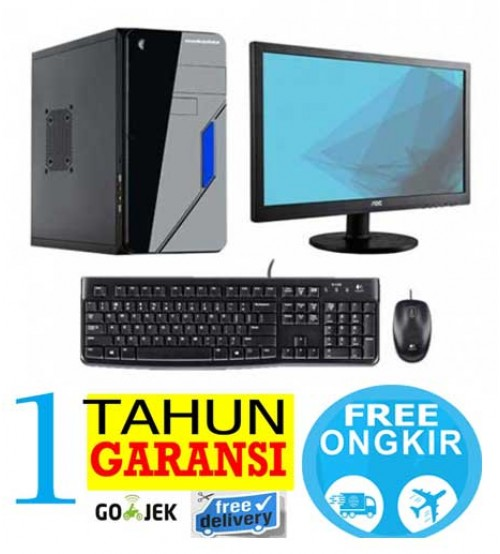 "Paket PC Kantor 8 -  Intel Dualcore  G3440  (haswell)  |  Led 19"" Acer"