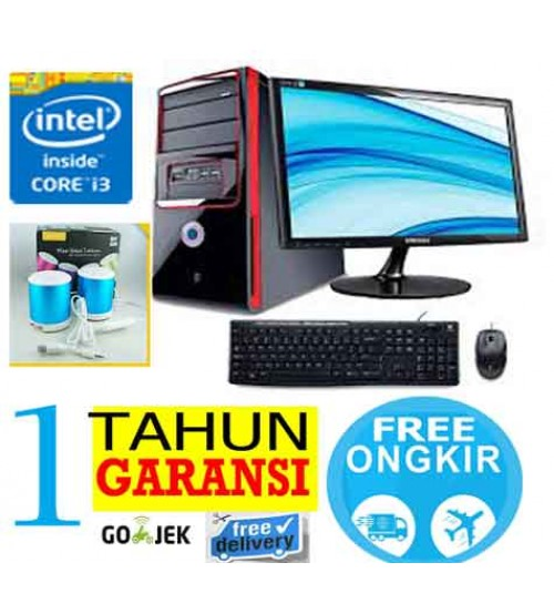 "Paket  PC Kantor 4 - Intel Core i3 2120   (Sandy Bridge)  |  LCD  Led 19"" Acer"