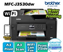 Printer Brother  MFC3530-DW  (A3) -  Print | Scan |  Copy  |  ADF |  wireless