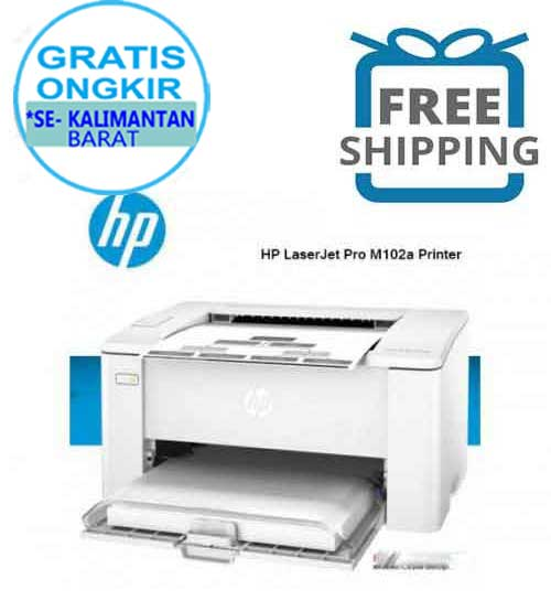 Printer HP  LaserJet Pro M102A  (monochrome Print A4)