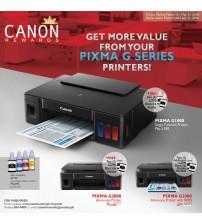 Printer Canon G2000 (Print Scan Copy A4) --- Print Head Garansi 1 tahun atau 12rbu Lembar B/W /Colour