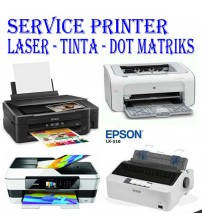 Service Printer Canon | Epson | HP | Brother | Dot Matriks | Laserjet P1102/ M125a dll.  >  Absorber Full | Flash/ganti ic eeprom | Error 5B02 dll | Paper jam |   Ngk mau hidup/nyala | Warna macet | ganti printhead  dll..