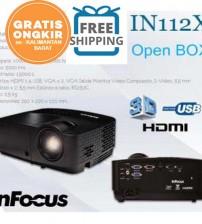 Proyektor Infocus IN 112X ( HDMI  |  SVGA 3200 lumens)