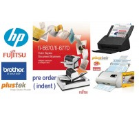 Aneka scanner fujitsu/ Plustek /brother /Hp (Pre order - indent)