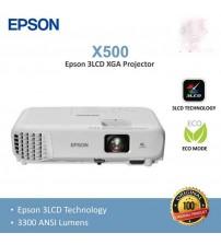 Proyektor Epson EB X500 | XGA |