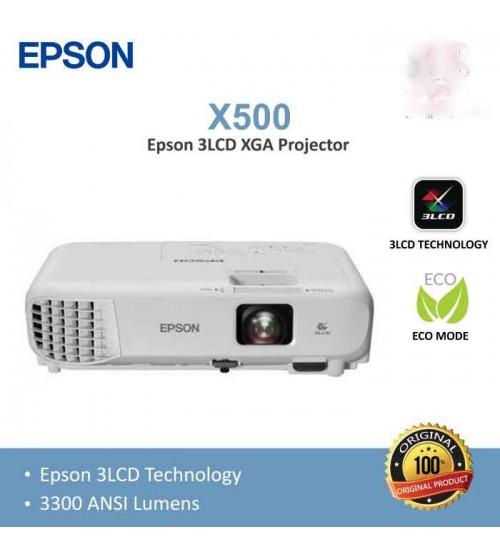 Proyektor Epson EB X500   XGA  