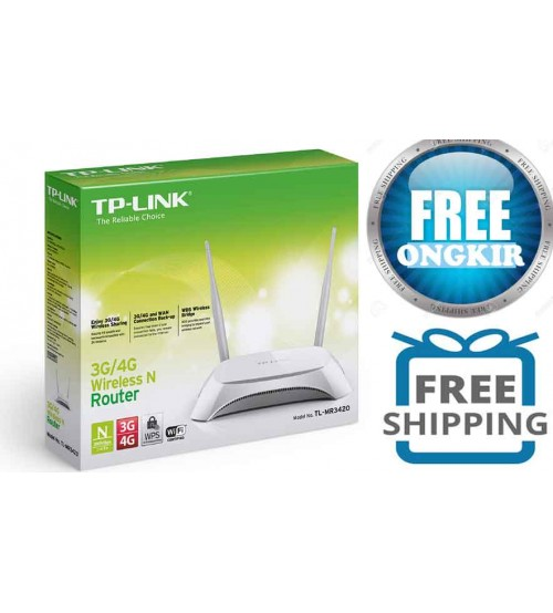 TP-LINK TL-MR3420 : Wireless Router 3G 300 Mbps
