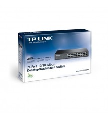 TP-LINK 24-Port 10/100Mbps SWITCH TL-SF1024D    Metal Case