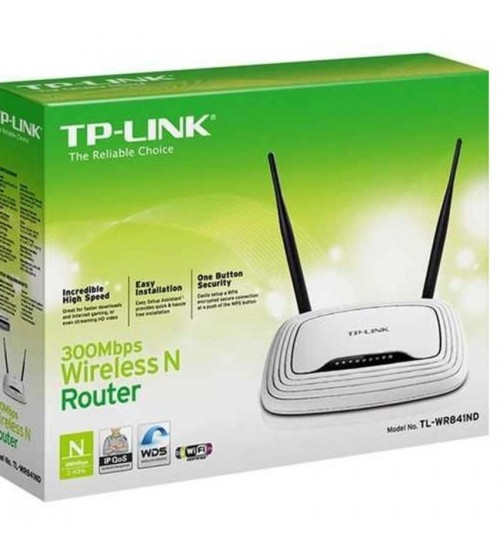 TP-LINK 300Mbps Wireless N Router TL-WR841ND - Putih