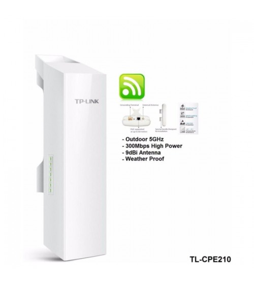 Tplink  CPE210 2.4GHz  - Outdoor CPE Wireless Access Point  (potongan harga u.pengambilan qty)