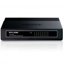 TP-Link - Switch HUB - 16 Port 10/100Mbps