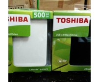 HDD Eksternal Toshiba 500 Gb Canvio Basic