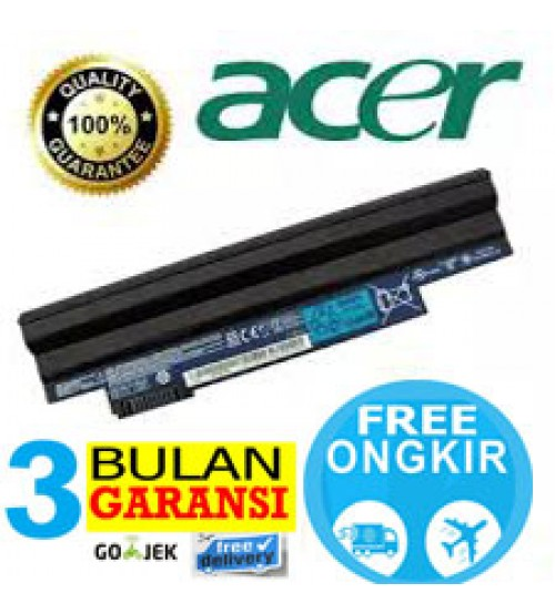 Baterai   Laptop Original ACER  Aspire one D255 | D260 |  522 | 722 | D270 - Black